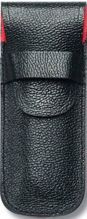 Чехол Victorinox для ножей 84 мм толщиной до 3 уровней, кожаный, цвет: черный