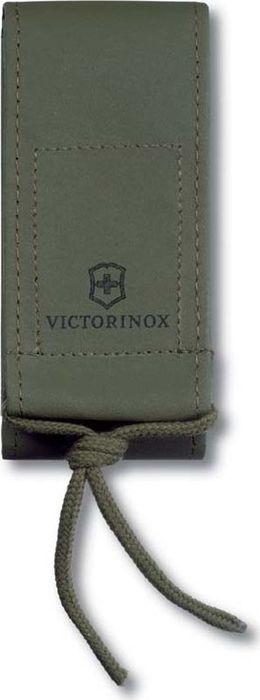 Чехол на ремень Victorinox для ножей 111 мм и SwissTool Spirit, из искусственной кожи, цвет: зеленый чехол для ножа victorinox swisstool spirit 11 1 см