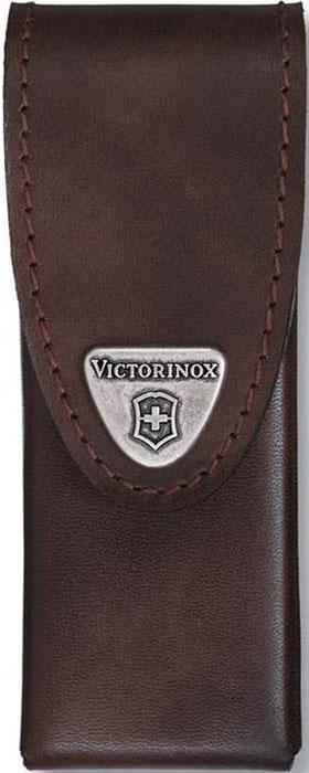 Чехол на ремень Victorinox для мультитулов SwissTool Spirit, кожаный, коричневый чехол для ножа victorinox swisstool spirit 11 1 см