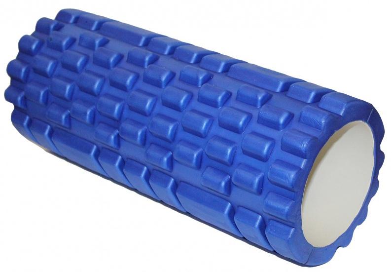 Валик для фитнеса Bradex Туба, цвет: синий массажер чудо валик