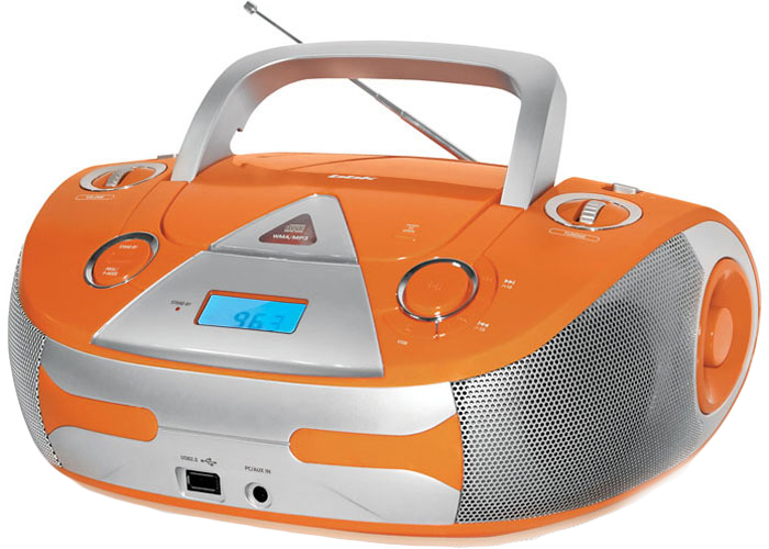 Магнитола BBK BX325U, Orange Silver CD/MP3 магнитола bbk bx325u green grey