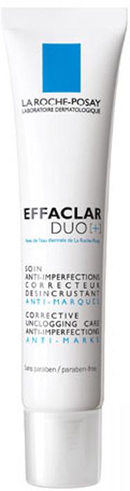 La Roche-Posay Корректирующий крем-гель для проблемной кожи лица Effaclar ДУО[+] 40 мл effaclar h крем
