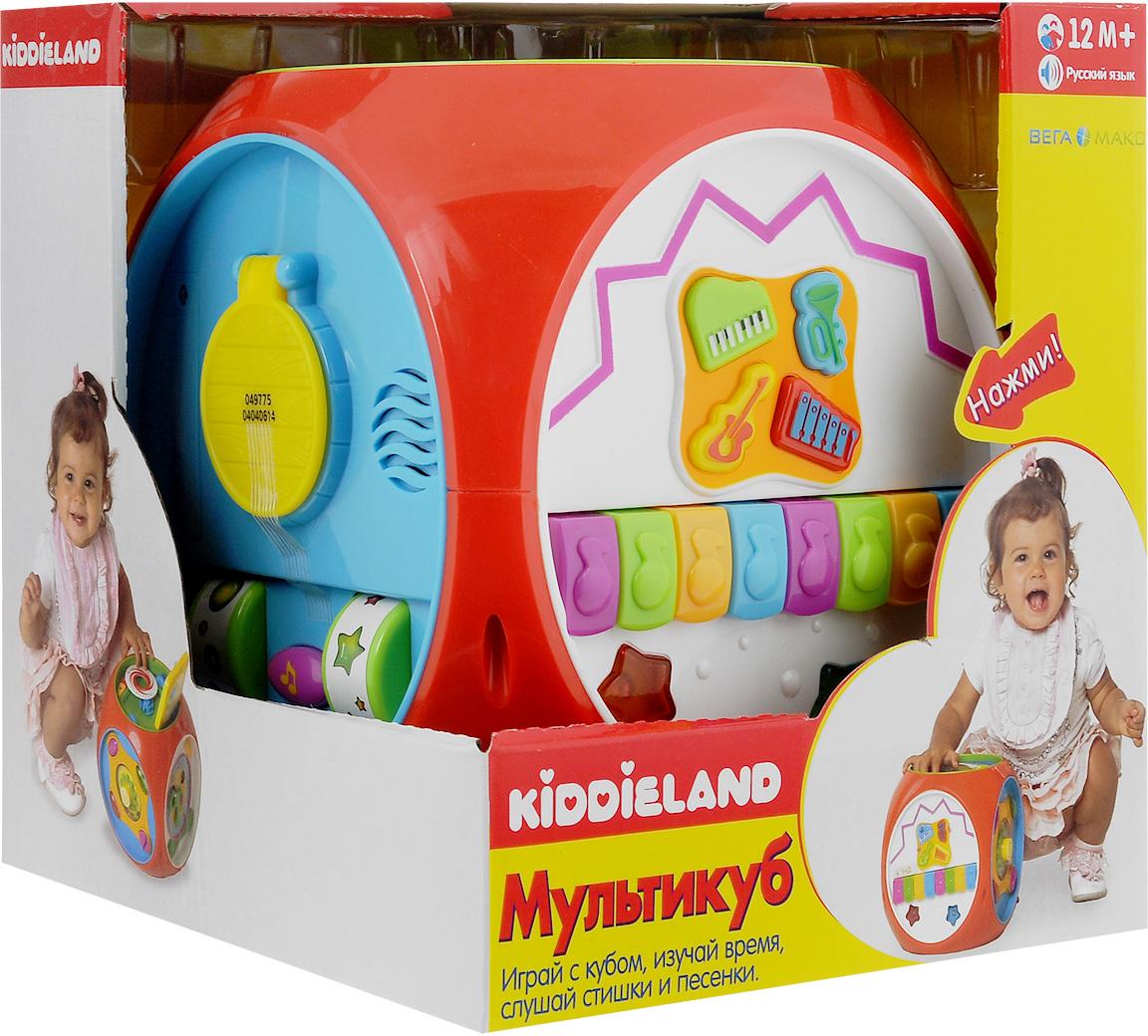 """Развивающая музыкальная игрушка Kiddieland """"Мультикуб"""""""