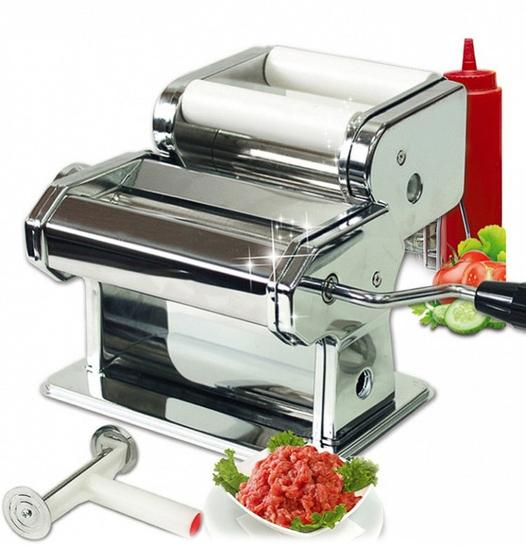 Машинка для приготовления равиоли и раскатывания теста для пасты BRADEX, TK 0094 fissman насадка на машинку для раскатки теста для лепки равиоли dv 8301 rv fissman