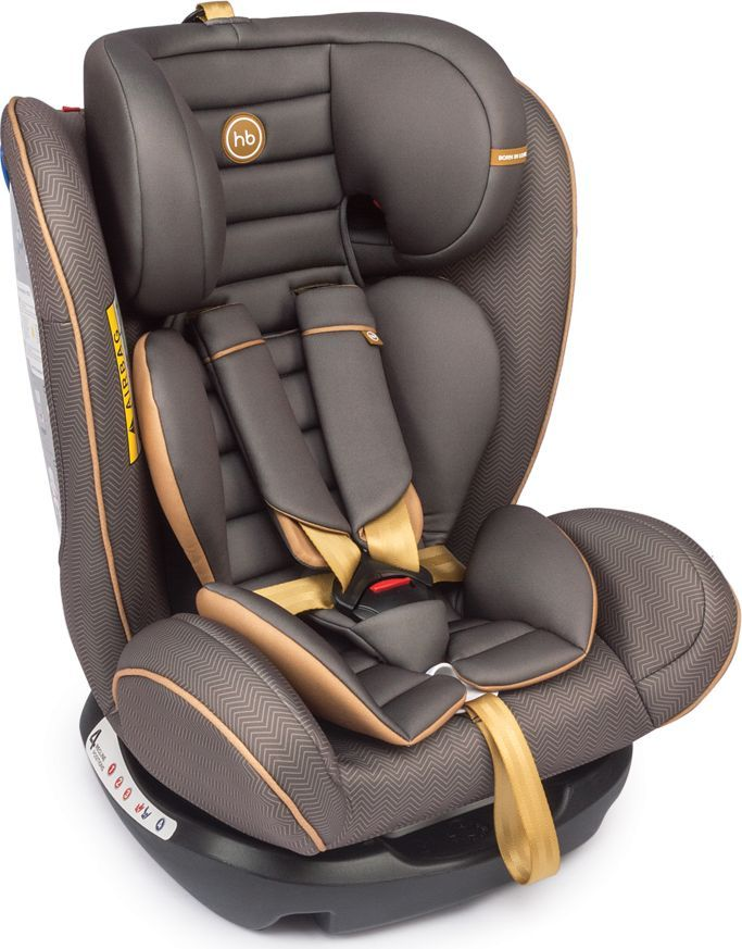 Happy Baby Автокресло Spector Brown 0-36 кг автокресло happy baby joss beige