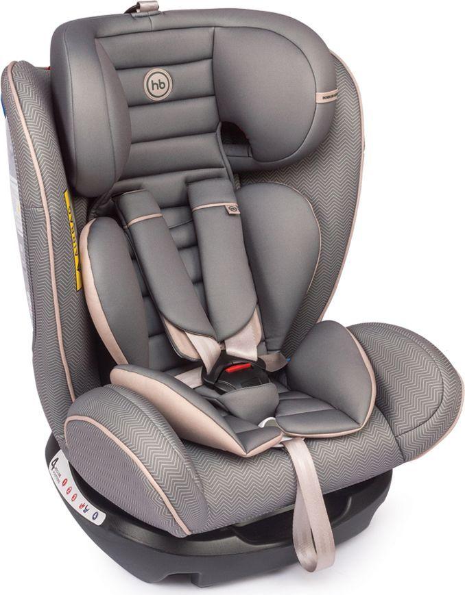Happy Baby Автокресло Spector Grey 0-36 кг автокресло happy baby joss beige