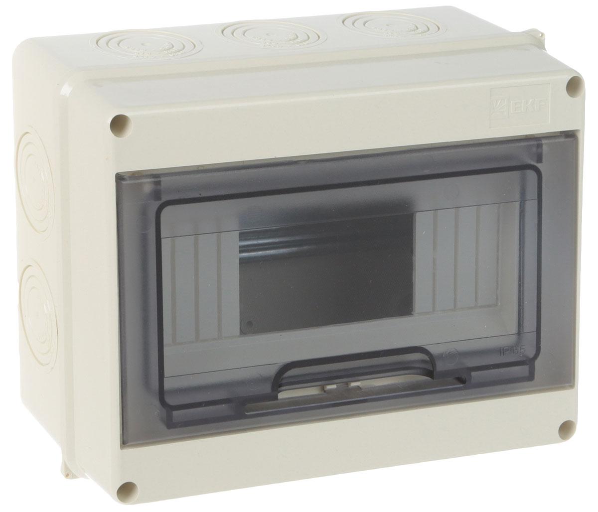 Щит распределительный EKF ЩРН-ПГ-8 IP65 ограничитель ekf opv d1