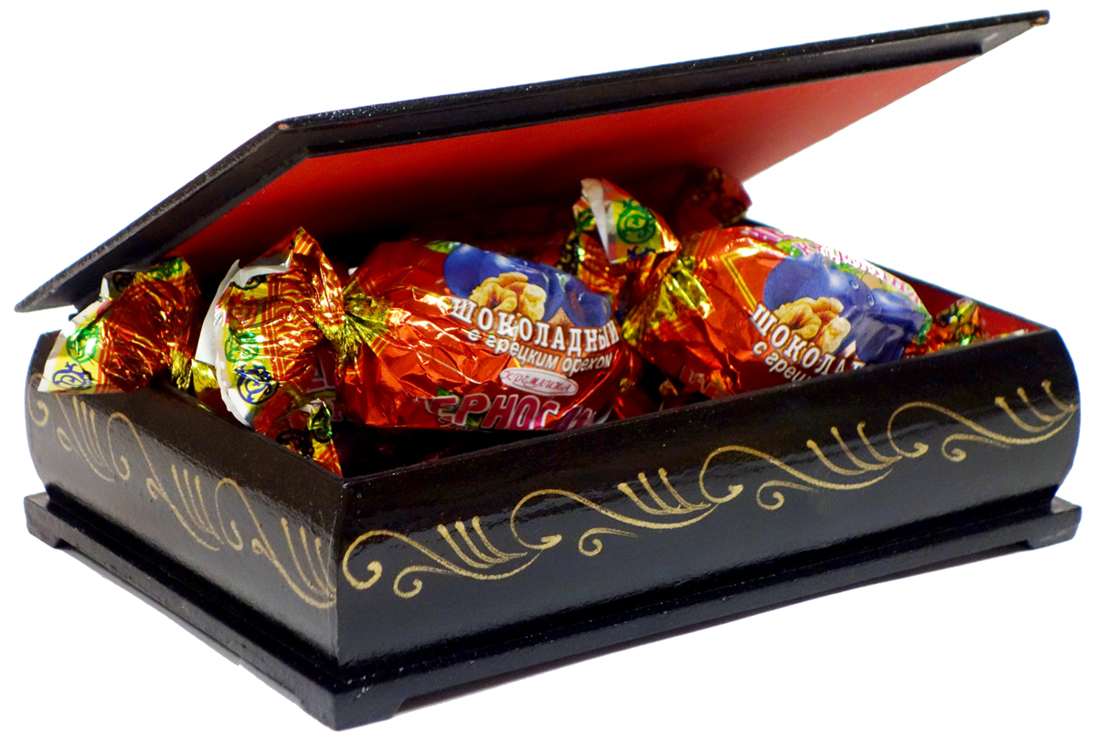 Кремлина Мишки чернослив шоколадный с грецким орехом конфеты, 150 г Кремлина