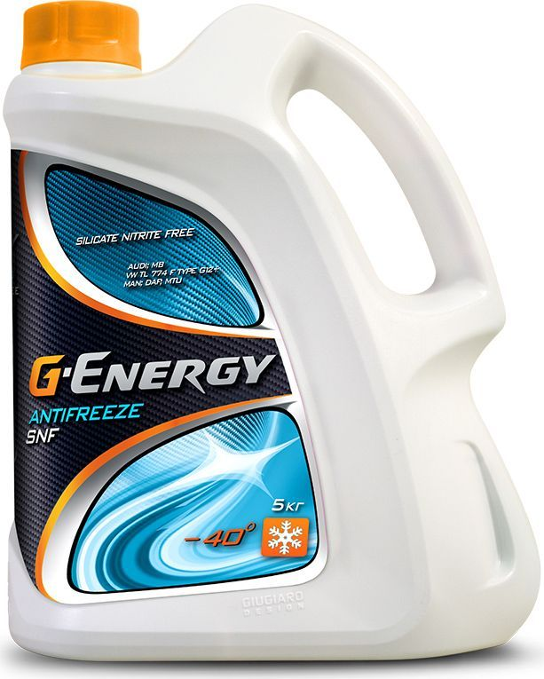 "Антифриз G-Energy ""SNF 40"", 5 кг"