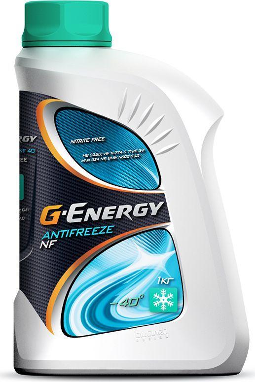 Антифриз G-Energy NF 40, 1 кг2422210118Антифриз G-Energy NF 40 - готовая к применению охлаждающая жидкость на основе этиленгликоля. Предназначена для применения в двигателях внутреннего сгорания с температурой защиты от замерзания -40°C. Содержит гибридный пакет ингибиторов коррозии на основе солей органических кислот и силикатов. Не содержит в своем составе нитритов, аминов, фосфатов и боратов (NF - Nitrite Free). Предохраняет двигатель от коррозии, перегрева и размораживания. Обеспечивает высшую степень коррозионной защиты для блока цилиндров, головки блока, радиатора, помпы, теплообменников. Официальные допуски: Mercedes Benz 325.0, MAN 324 NF, Deutz, Jenbacher. Соответствует требованиям: BMW, Eicher, Liebherr, MAN B&W, Rolls Royce, Tesla, Van Hool, Zastava, AUDI (1981-1996), Land Rover (1998 - 2005), Mercedes-Benz (1976 - 2014), Volvo Trucks (до 2005), Mitsubishi(Carismaonly (1996-2004), Mitsubishi Colt only (2004-2007), Opel (1975-2000), Porsche (до 1995), Saab (1975-2000), Seat (1985-1996), Skoda (1989 -1998), Smart (1998-2013), VW (1975-1996). Срок эксплуатации - 4 года.