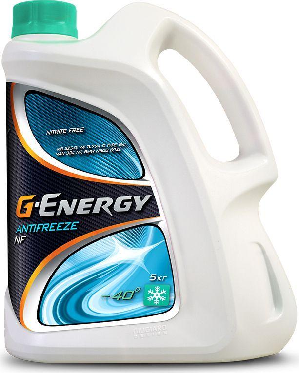 "Антифриз G-Energy ""NF 40"", 5 кг"