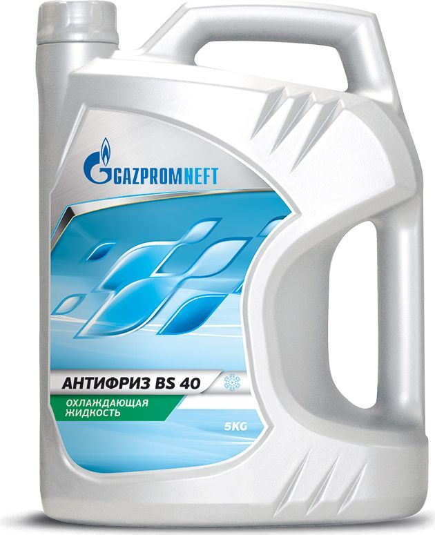 "Антифриз Gazpromneft ""40 (BS)"", 5 кг"