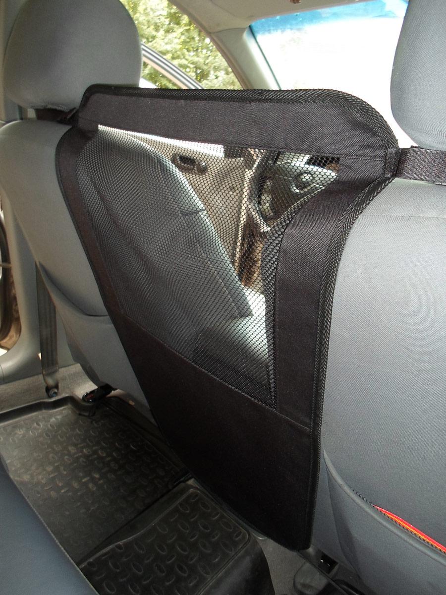 """Перегородка защитная для животных """"AvtoPoryadok"""", между передними сиденьями, цвет: черный, 50 х 35 см"""
