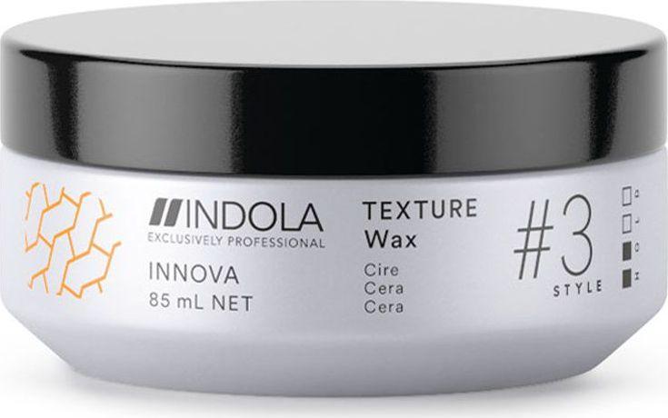 Indola Текстурирующий воск для волос Texture #3 Style Innova, 85 мл label m текстурирующий воск 40 мл