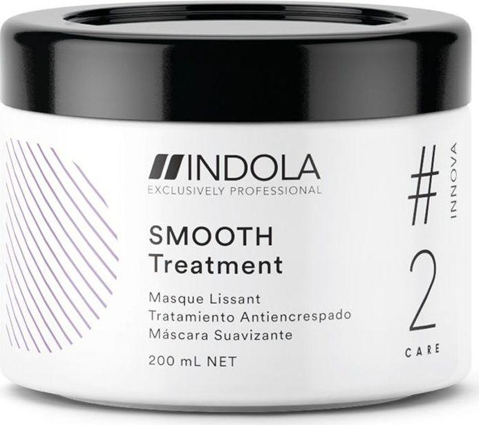 Indola Разглаживающая маска для волос Smooth #2 Care Innova, 200 мл indola чарующее сияние маска восстанавливающая смываемая 200 мл