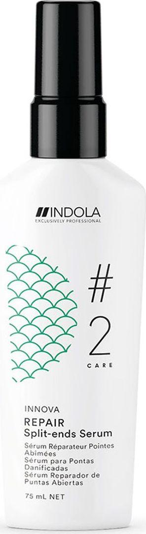 Indola Professional Флюид для секущихся кончиков волос Repair #2 Care Innova Split-ends Serum, 75 мл indola professional care сыворотка восстанавливающая для кончиков волос 75 мл