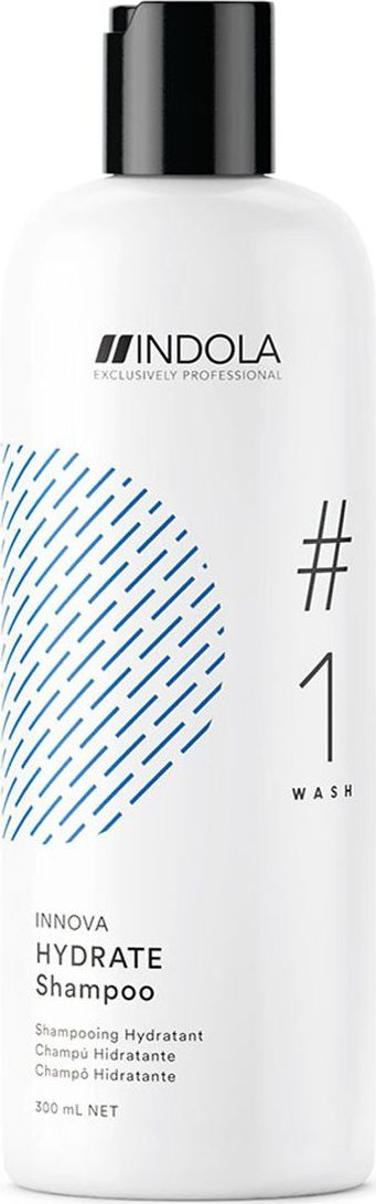 Indola Увлажняющий шампунь для волос Hydrate #1 Wash Innova, 300 мл2207062Увлажняющий шампунь. Входящее в состав Масло Жожоба идеально восстанавливает влагу в волосах и питает сухие волосы, обеспечивая более легкое расчесывание. Формула с Пиксельной Технологией возвращает волосам первозданное качество, обеспечивая сияние цвета.