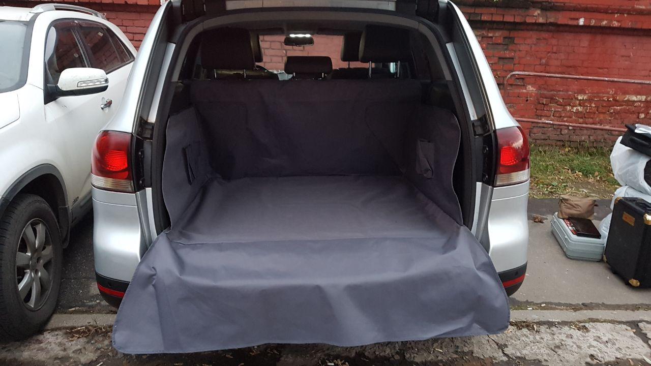 Накидка защитная для животных AvtoPoryadok Maxi, в багажник, цвет: черный, 120 х 100 х 45 см накидка защитная для животных avtoporyadok на переднее сиденье с карманом цвет серый 120 х 49 см