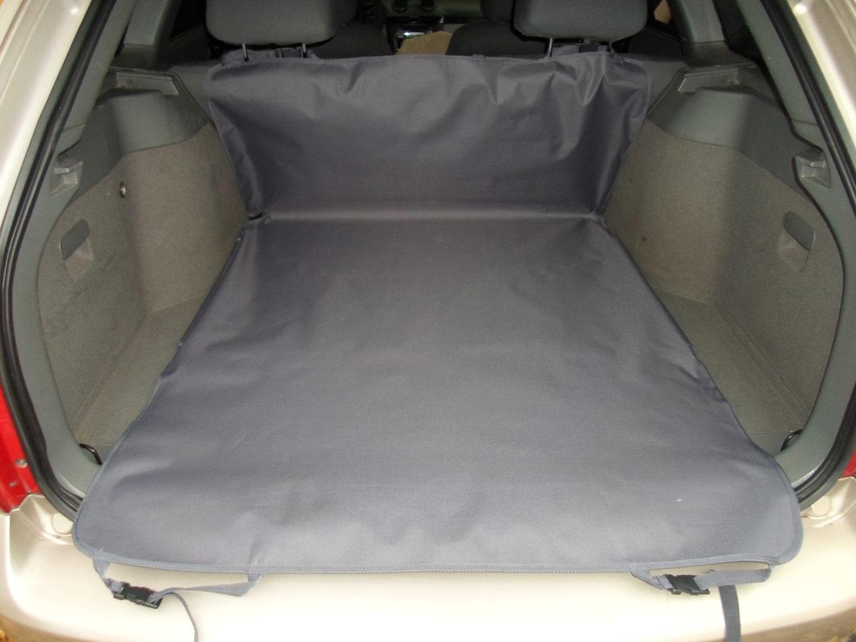 Накидка защитная для животных AvtoPoryadok 2 в 1, в салон и багажник, цвет: серый, 185 х 130 см, размер L накидка защитная для животных avtoporyadok на переднее сиденье с карманом цвет серый 120 х 49 см