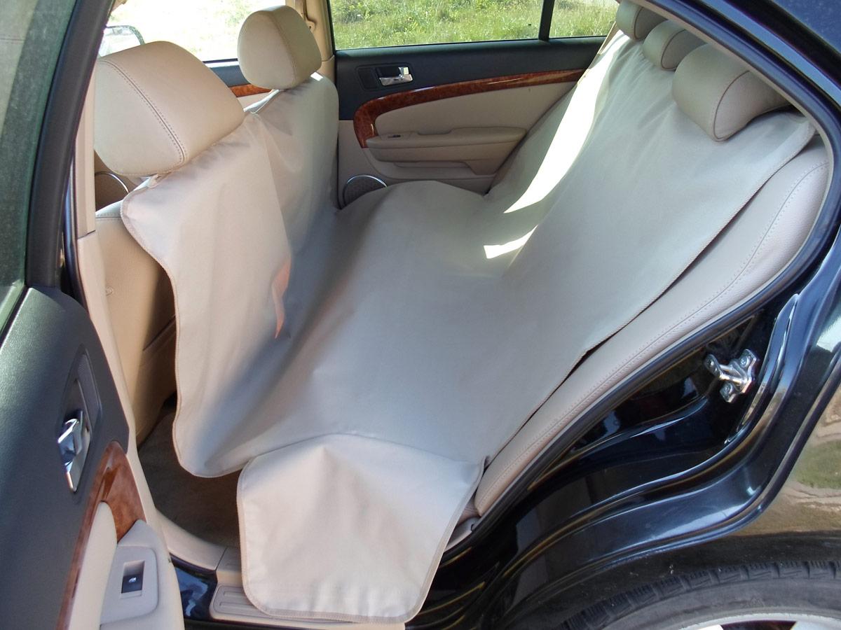 Накидка защитная для животных AvtoPoryadok 2 в 1, в салон и багажник, цвет: бежевый, 165 х 100 см, размер M накидка защитная для животных avtoporyadok на переднее сиденье с карманом цвет серый 120 х 49 см