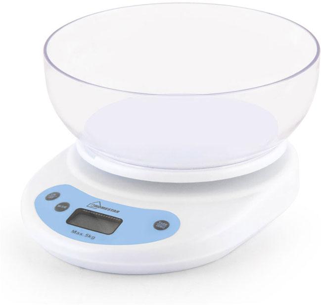 Кухонные весы HomeStar HS-3001, White весы homestar hs 3001