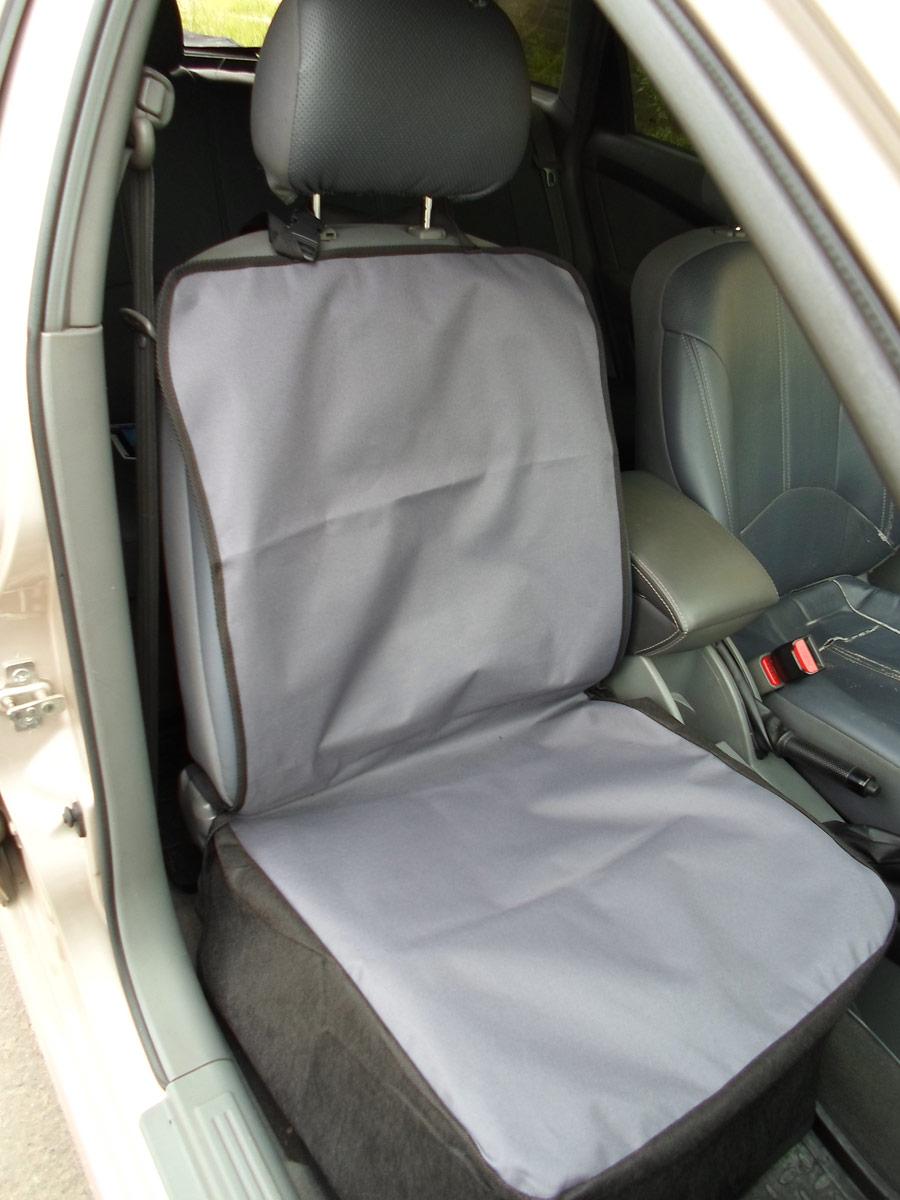 Накидка защитная для животных AvtoPoryadok, на переднее сиденье, цвет: серый, 110 х 49 см накидка защитная для животных avtoporyadok на переднее сиденье с карманом цвет серый 120 х 49 см