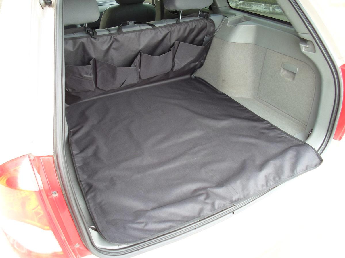 Накидка защитная для животных AvtoPoryadok, в багажник, с карманами, цвет: черный, 160 х 100 см накидка защитная для животных avtoporyadok на переднее сиденье с карманом цвет серый 120 х 49 см