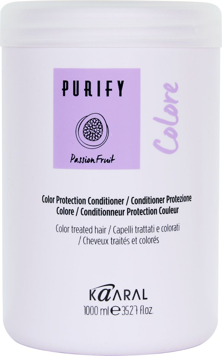 Kaaral Кондиционер для окрашенных волос Purify Colore Conditioner, 1000 мл kaaral кондиционер для окрашенных волос purify colore conditioner 1000 мл