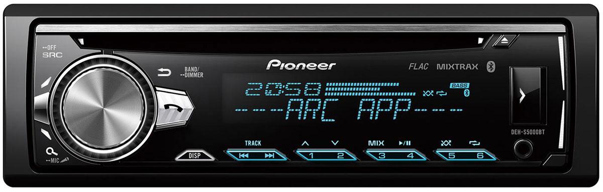 Pioneer DEH-S5000BT автомагнитола