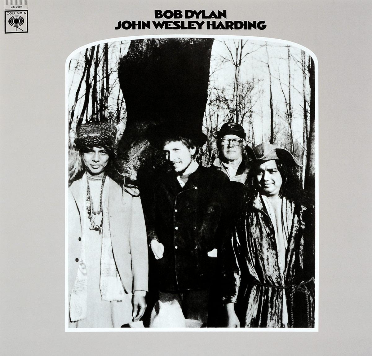 Боб Дилан Bob Dylan. John Wesley. Harding. 2010 Mono Version (LP) bob dylan bob dylan john wesley harding 2010 mono version 180 gr