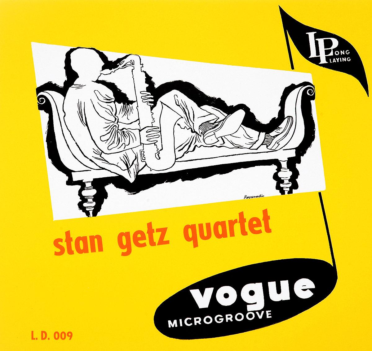 Стэн Гетц Stan Getz. Stan Getz Quartet (LP) стэн гетц stan getz big band bossa nova lp