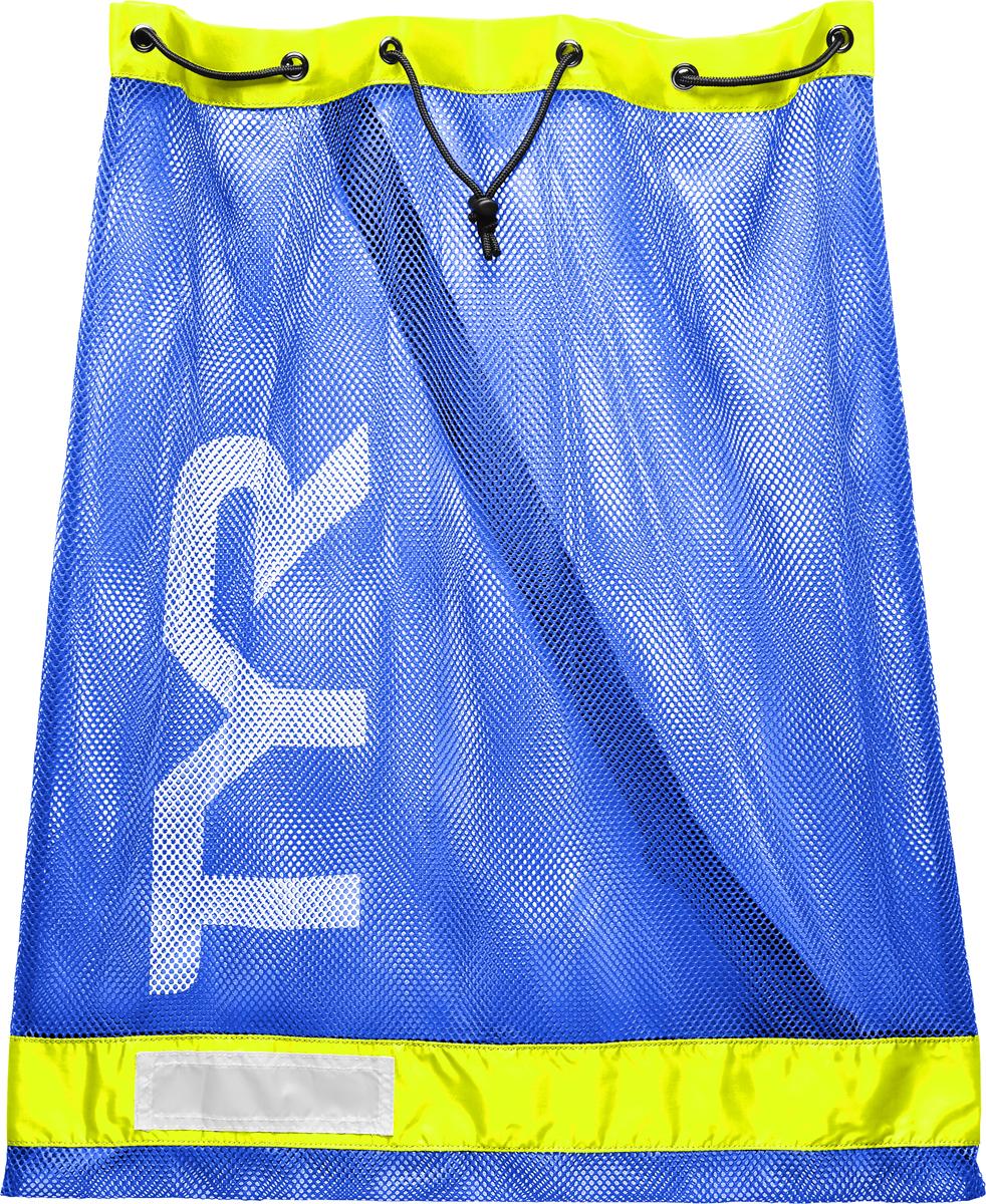 Мешок для аксессуаров Tyr Swim Gear Bag, цвет: голубой, желтый. LBD2 очки для плавания tyr tyr ty003duxis90