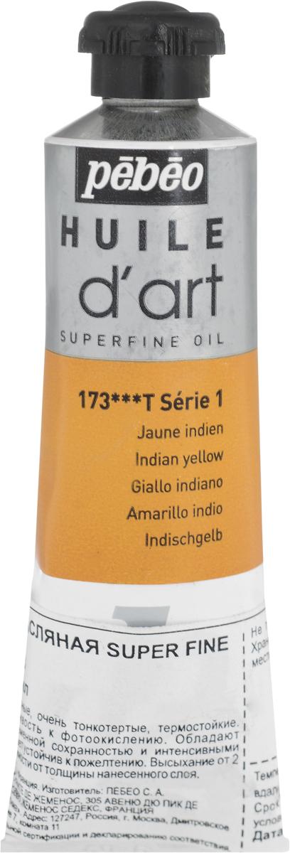 Pebeo Краска масляная Super Fine D'Art №1 цвет 014173 индийский желтый 37 мл