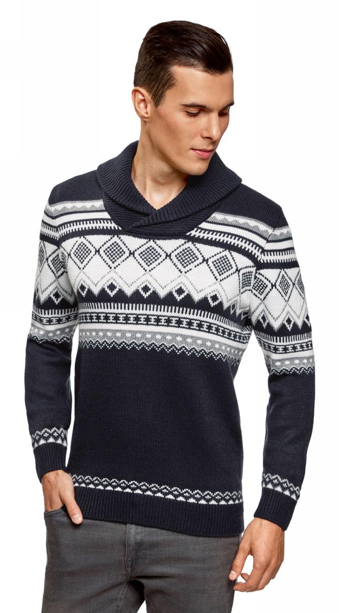 цена Пуловер oodji онлайн в 2017 году