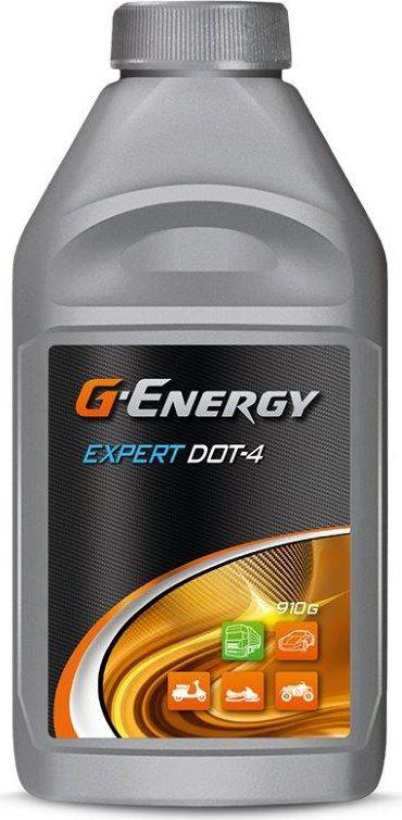 Фото - Жидкость тормозная G-Energy Expert Dot-4, 1 л (910 г) тормозная жидкость rosdot тс dot 4 430140001 455 г