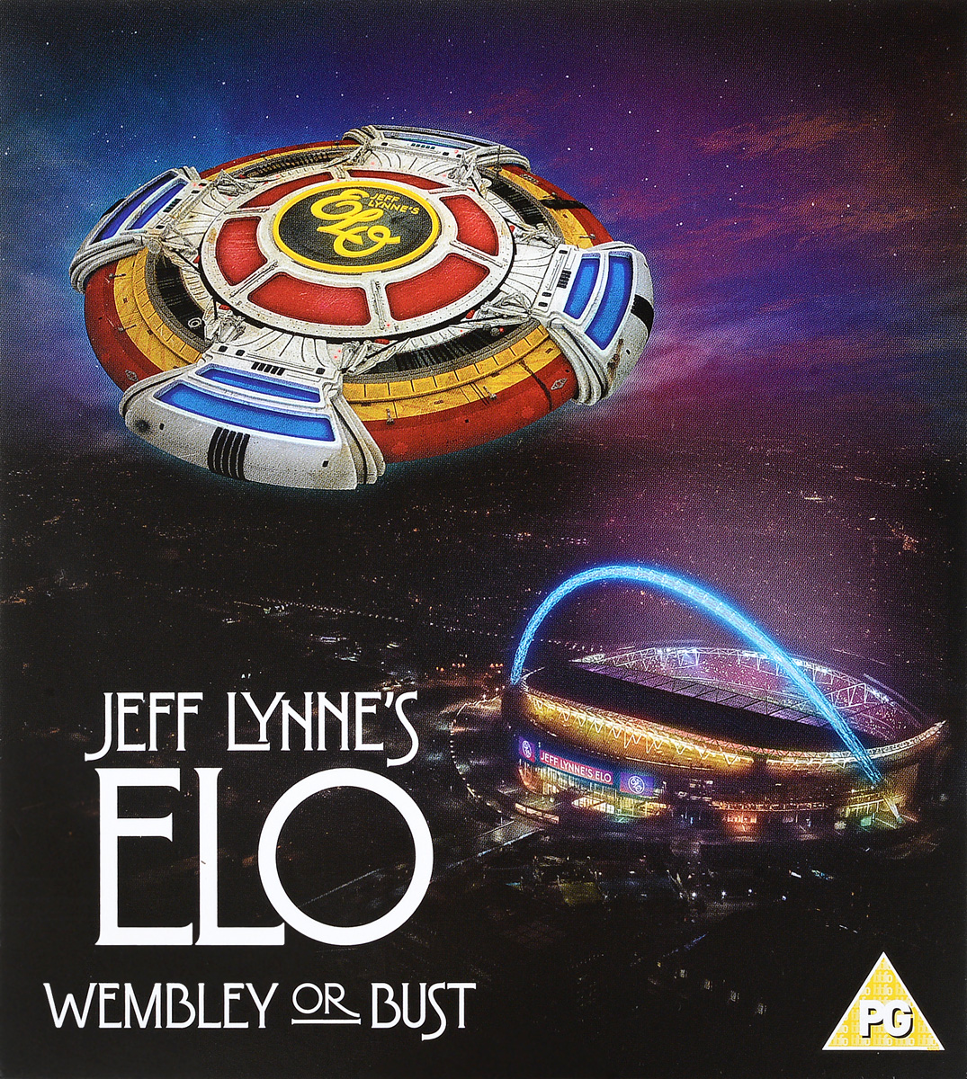 Electric Light Orchestra Jeff Lynne's ELO. Wembley Or Bust (CD + DVD) electric light orchestra electric light orchestra jeff lynne s elo alone in the universe