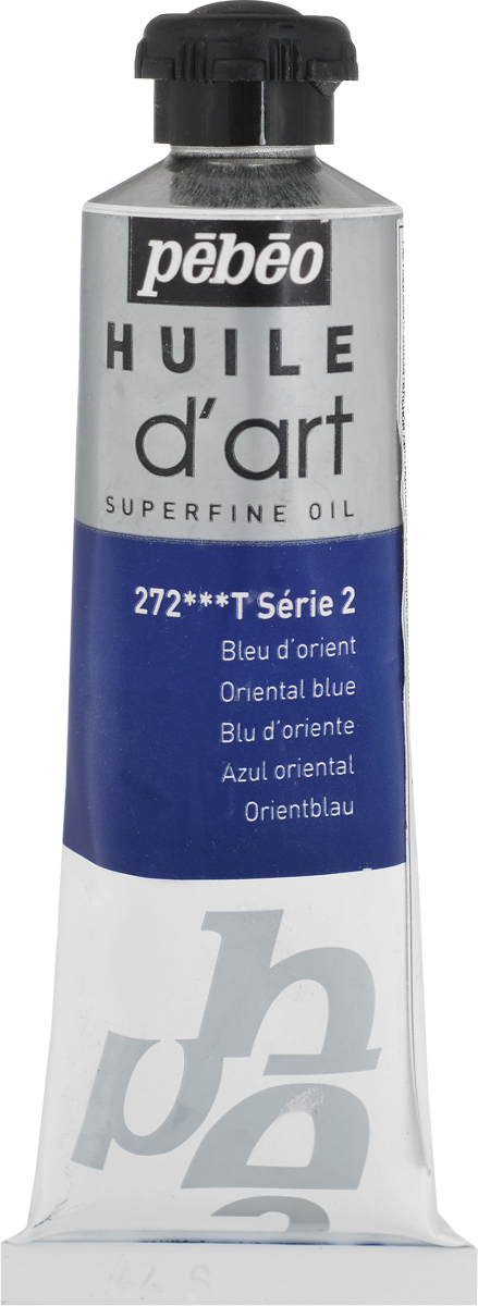 Pebeo Краска масляная Super Fine D'Art №2 цвет 014272 синий яркий 37 мл