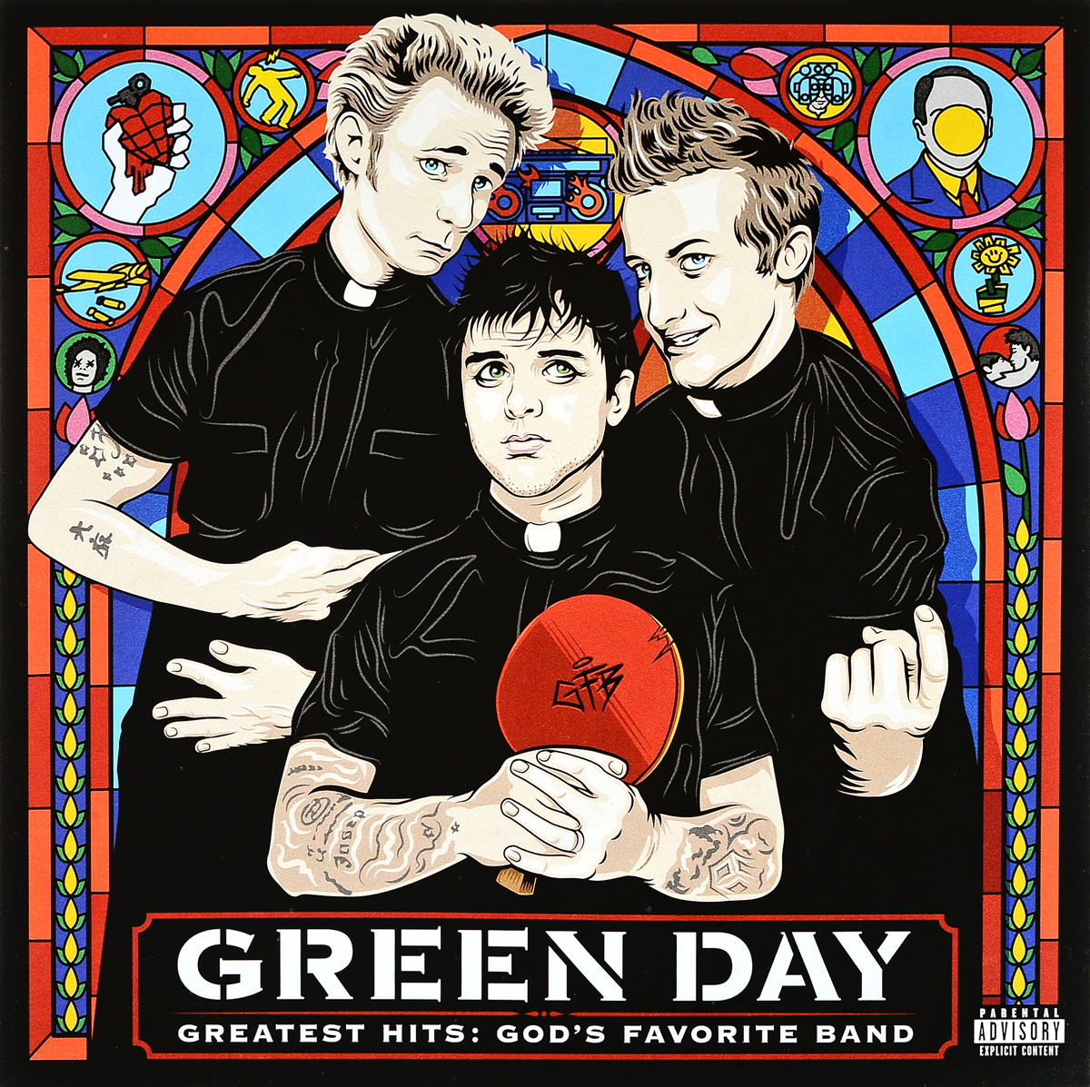 Green Day Green Day. Greatest Hits. God's Favorite Band (2 LP) green day green day on the radio 2 lp