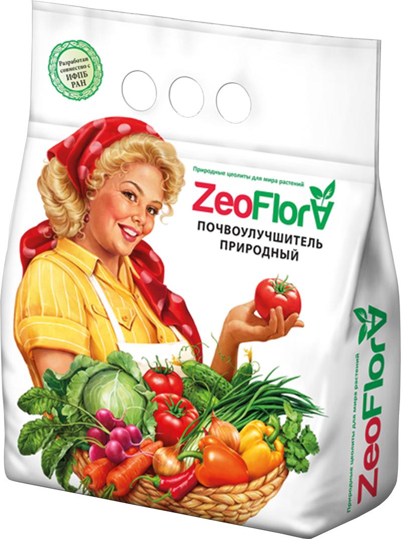 Почвоулучшитель универсальный ZeoFlora, для всех видов растений, 5 л