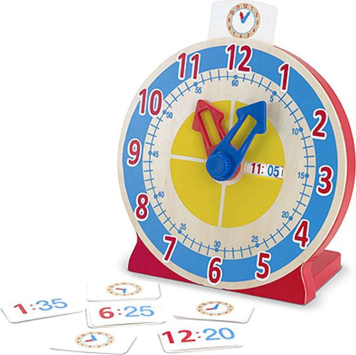 Melissa & Doug Обучающая игра Часы с карточками-заданиями