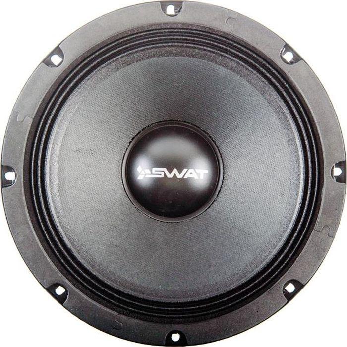 Акустика SWAT SP PRO-80, цвет: черный, CЧ/НЧ, 8, 200 Вт акустика swat sp m6930