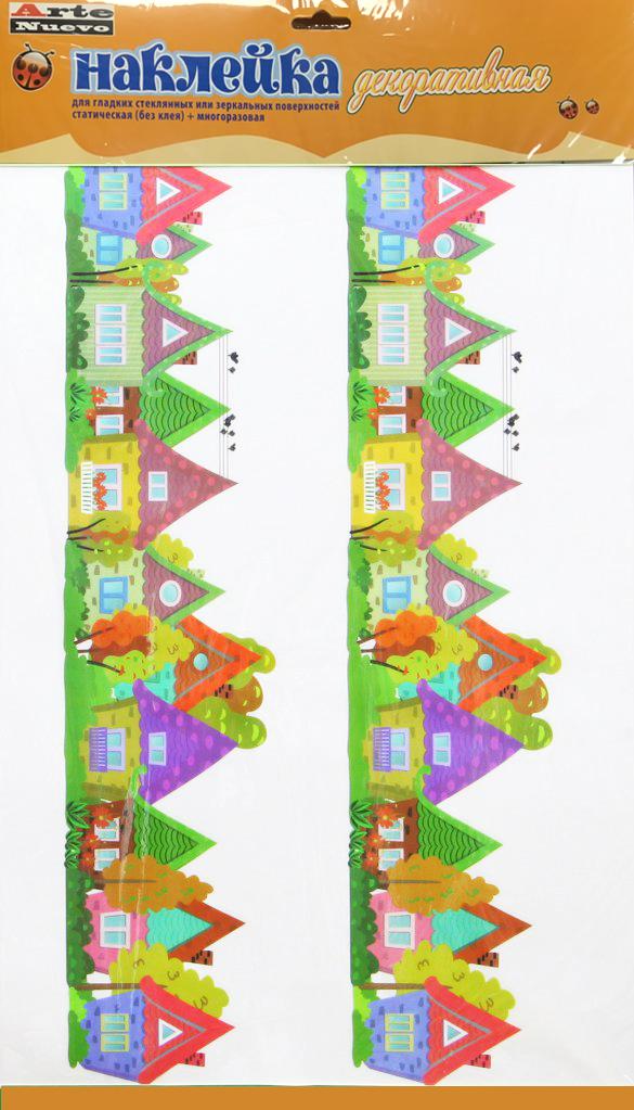 цена на Наклейка декоративная Arte Nuevo, для гладких стеклянных или зеркальных поверхностей, 33 х 56 см. 2DN-WM-2s