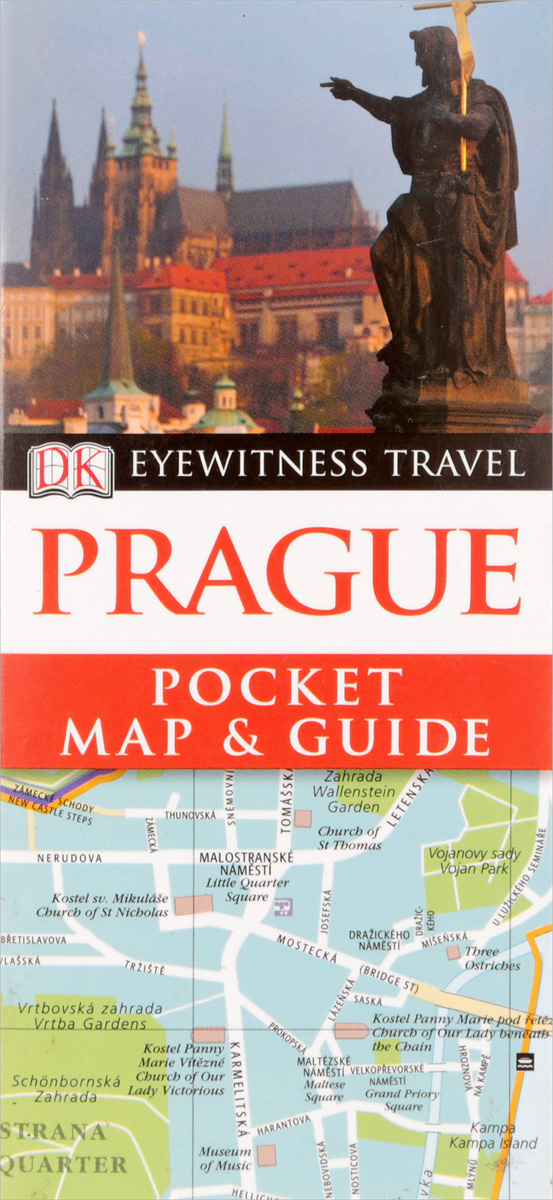 Prague: Pocket Map & Guide prague pocket map