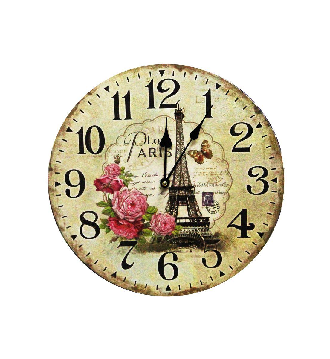 Часы настенные Arte Nuevo, диаметр 34 см часы настенные arte nuevo sweet home 21 5 см