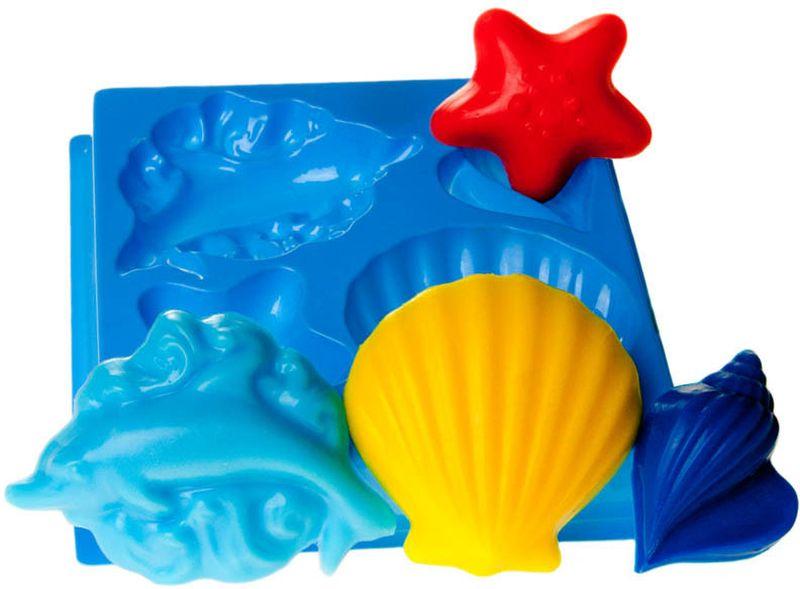 Форма для мыла Выдумщики Морской, пластиковая, цвет: прозрачный форма для мыла выдумщики букет тюльпанов пластиковая цвет прозрачный