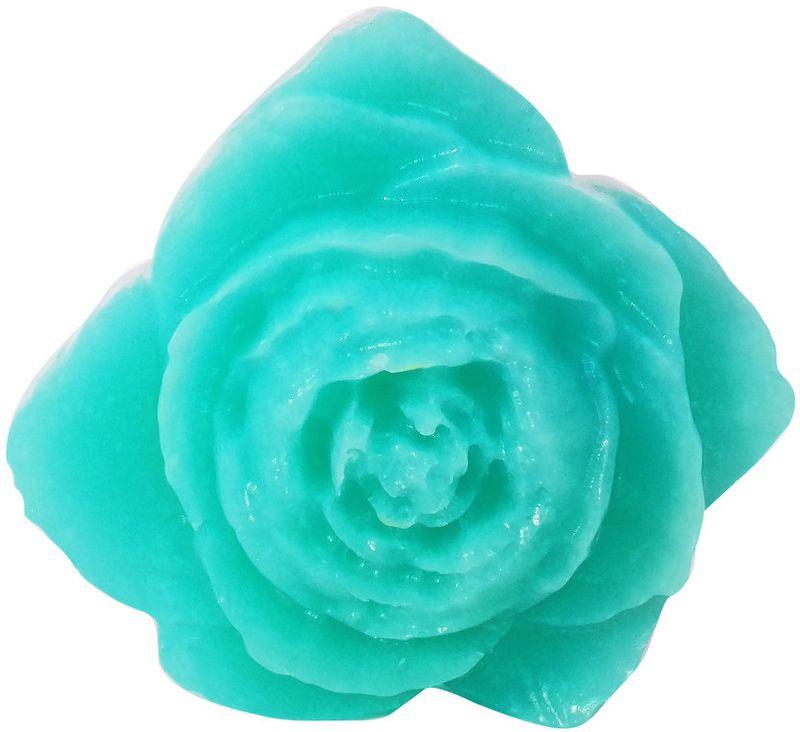 Форма для мыла Выдумщики ActivSoap. Пион, силиконовая, цвет: бирюзовый форма для мыла выдумщики косичка силиконовая 11 5 х 1 см