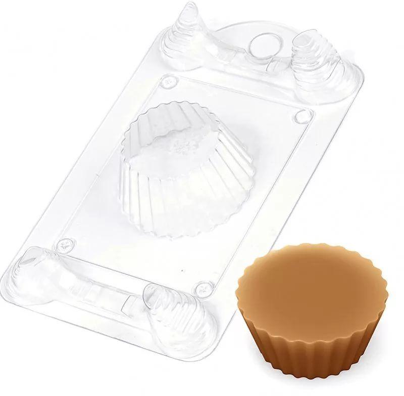 Форма для мыла Выдумщики Кейк, пластиковая форма для мыла выдумщики букет тюльпанов пластиковая цвет прозрачный