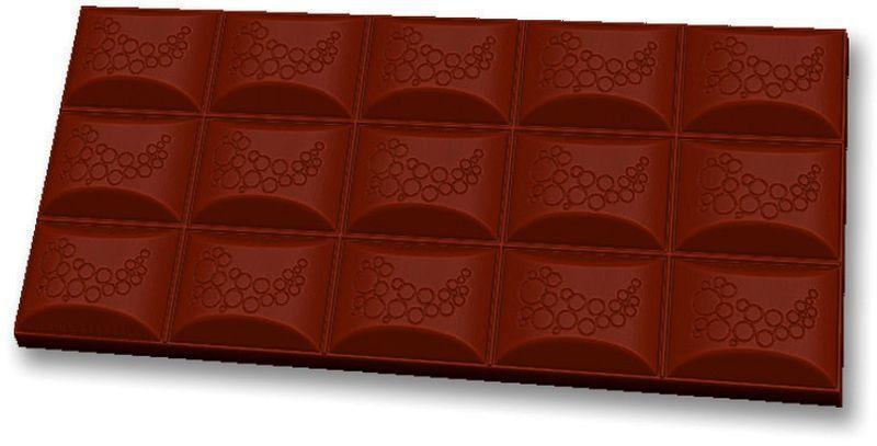 Форма для мыла Выдумщики Шоколад воздушный, пластиковая, цвет: прозрачный форма для мыла выдумщики букет тюльпанов пластиковая цвет прозрачный