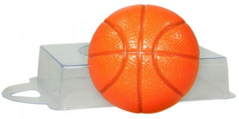 Форма для мыла Выдумщики Баскетбольный мяч, пластиковая форма для мыла выдумщики букет тюльпанов пластиковая цвет прозрачный