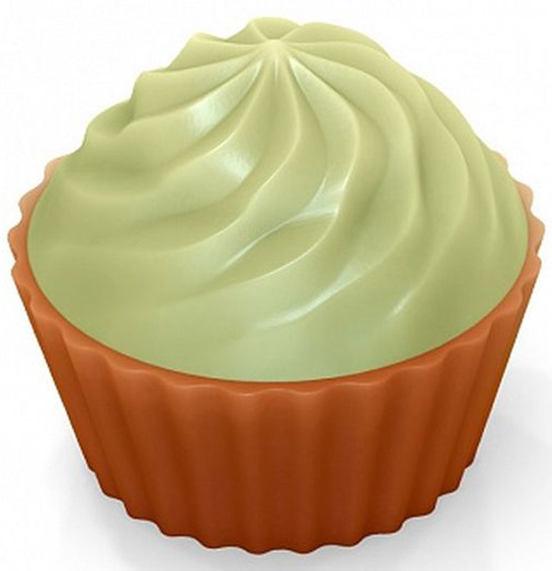 Форма для мыла Выдумщики Кейк верхушка. Крем, пластиковая, цвет: прозрачный форма для мыла выдумщики букет тюльпанов пластиковая цвет прозрачный